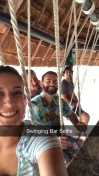 The Swinging Bar at our resort in Cancun!